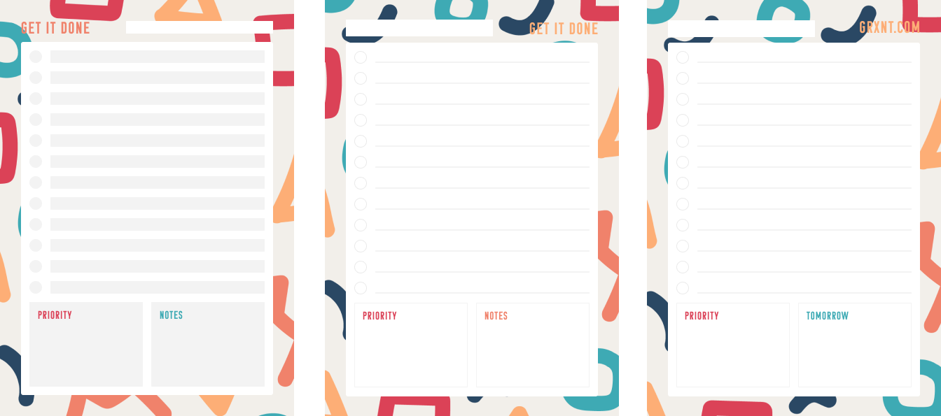 printable to-do list image
